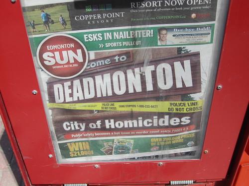 Edmonton Sun: Deadmonton