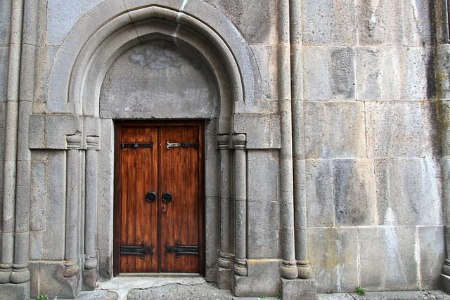 Porte du monastère Ketcharis, Arménie