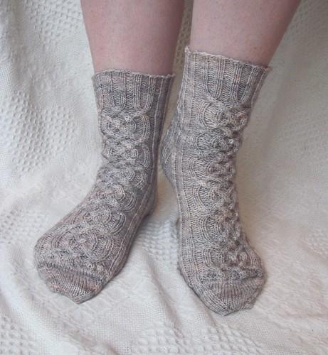 Finished Viking Socks