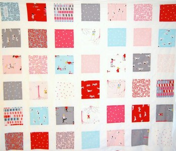 sherbet pips baby quilt