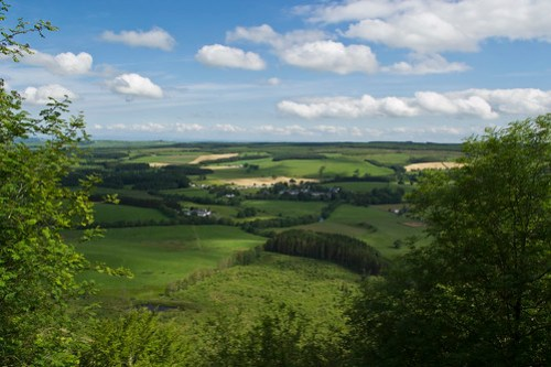 From the top of Bennan Hill