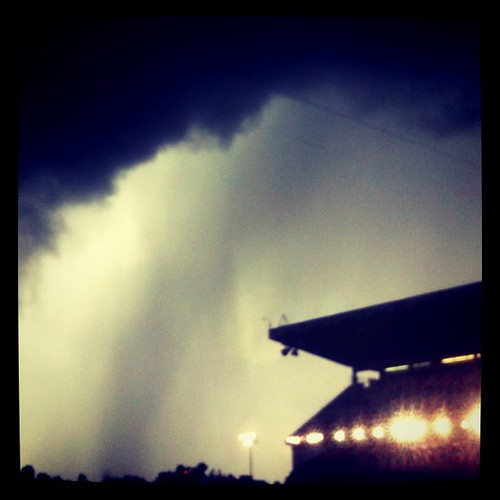 Weather over the Grandstand #stampede