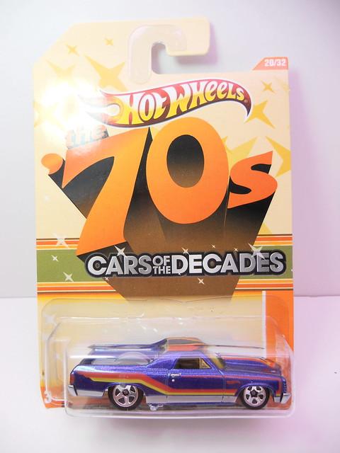 hot wheels decades '71 el camino