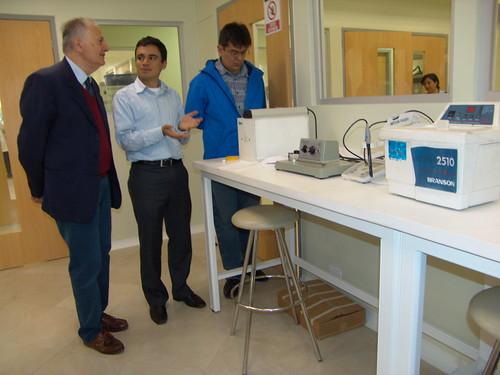 Visita del Dr. Giovanni Vidari
