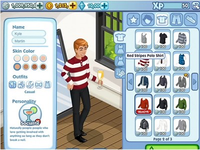 36 Screen Shots From The New Sims Social Trailer