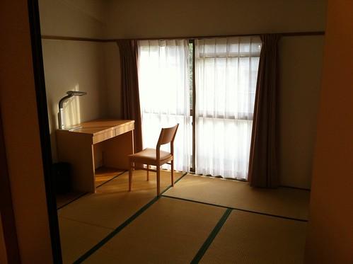 Tatami facing balcony!