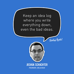joshua startupquote idea log
