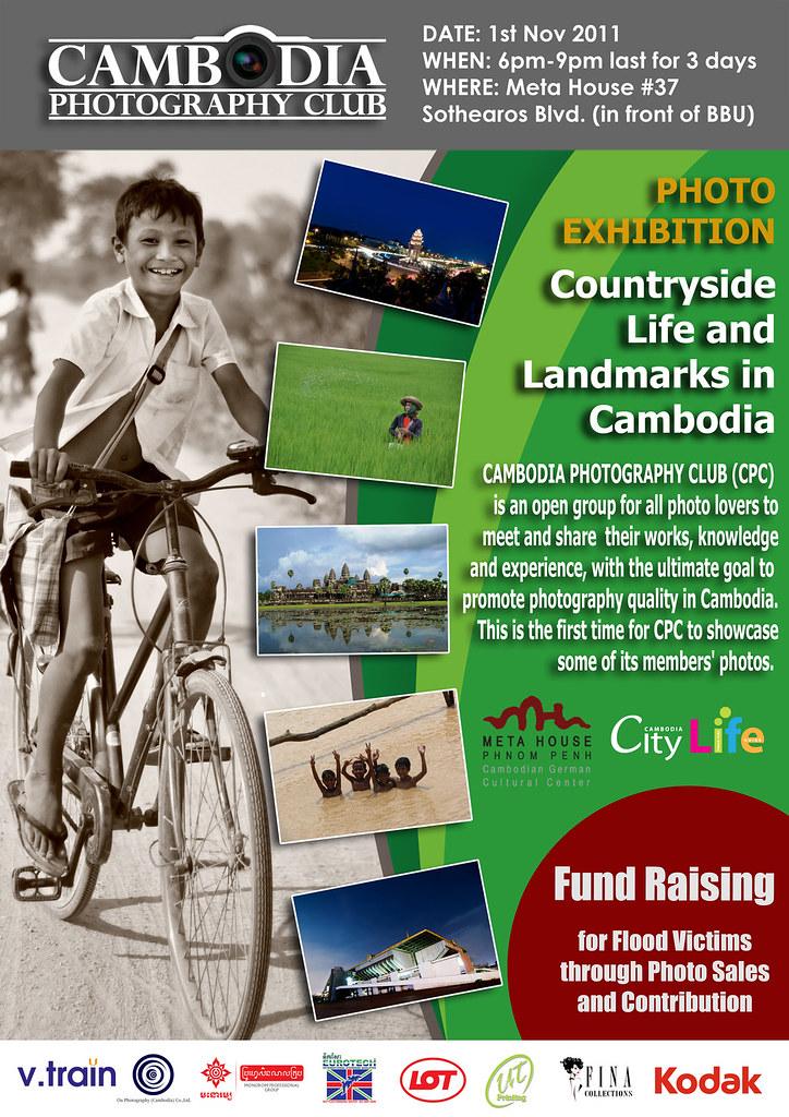 Cambodia Photography Club's Photo Exhibition