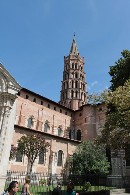 Basilique Saint-Sernin, Clocher