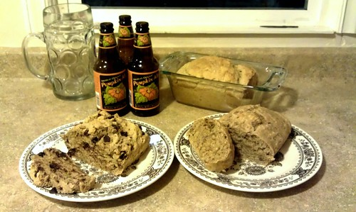 Pumpkin Ale Bread!