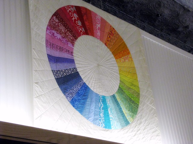 Color Wheel Quilt at Purl Soho