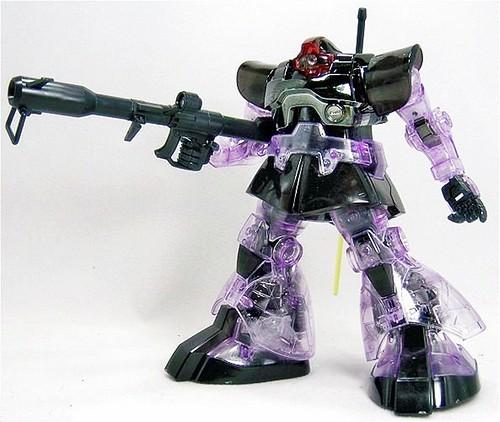 MG Rick Dom {Purple Clear + Metallic} (2)
