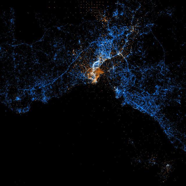 istanbul twitter haritası