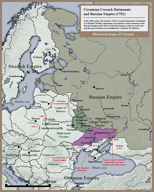 007_Ukrainian_Cossack_Hetmanate_and_Russian_Empire_1751
