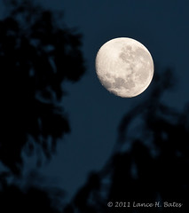 20110718 Waning Gibbous Moon