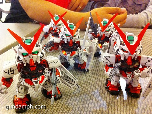 Free SD Astray Red Frame at TK Gundam Detailing Contest Caravan (44)