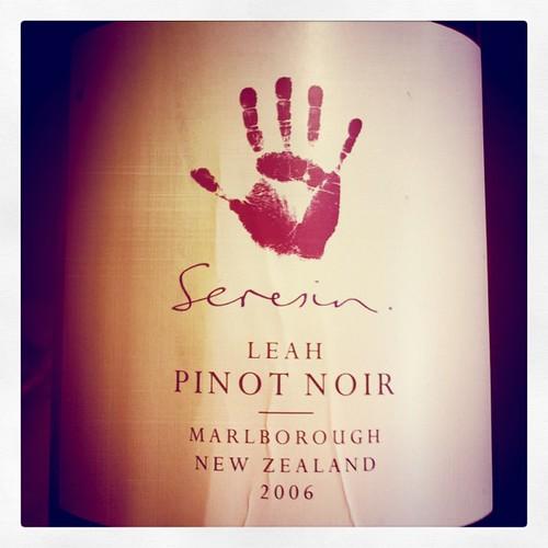 Seresin Leah Pinot Noir 2006, Marlborough, NZ