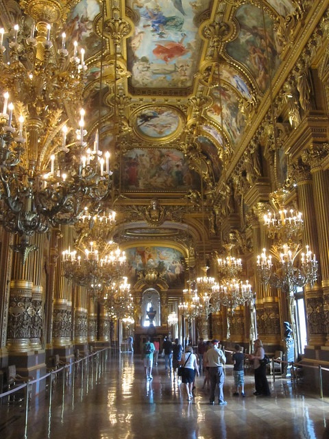 The Grand Foyer at the Opera