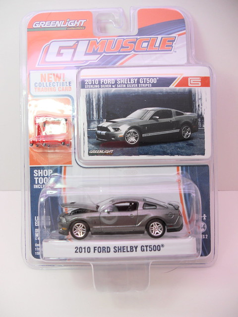 gl muscle 2010 ford shelby gt-500 gray