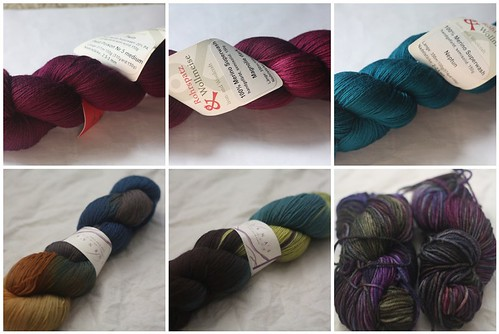 July yarns in