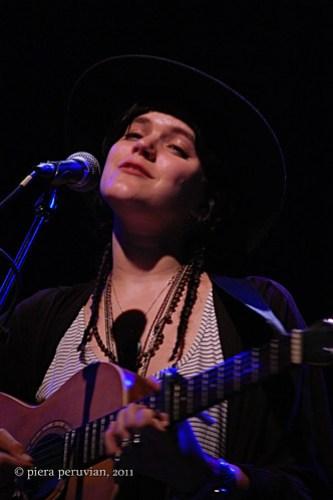 Soko performing at The El Rey Theatre