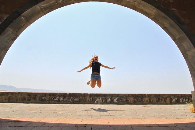 Saut à l'Arc de Charentes, Erevan, Arménie