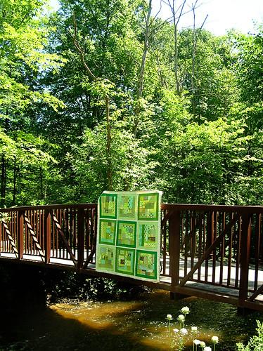 Quilt on the bridge