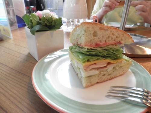 手工三明治