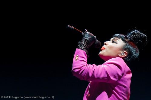 Natalia Kills in de Heineken Music Hall (05-07-2011).