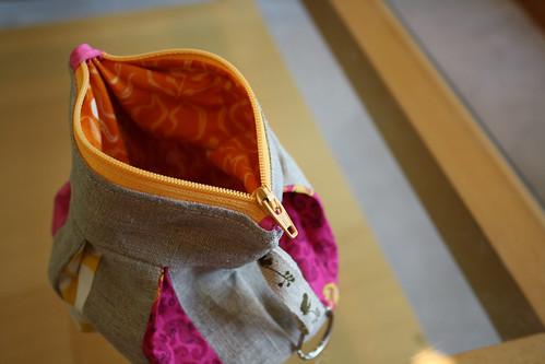 pretty pouch interior