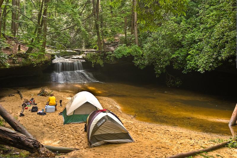 Creation Falls Camping