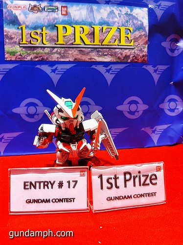 Free SD Astray Red Frame at TK Gundam Detailing Contest Caravan (21)
