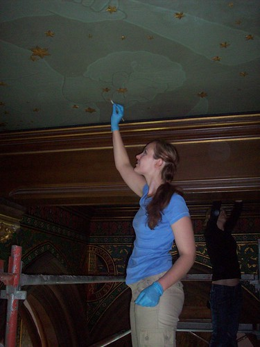 Cleaning the Ceiling of the Great Hall