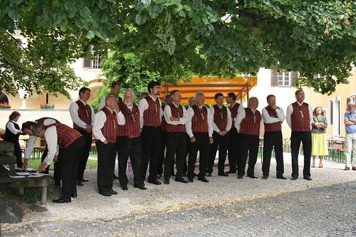 Der Gastgeber und Jubilar - MGV Millstatt