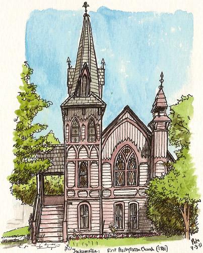 first presbyterian church, jacksonville