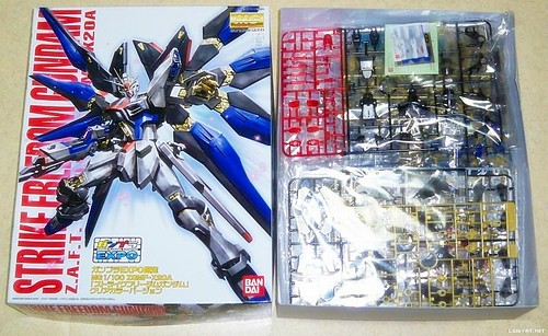 MG Strike Freedom {Expo Limited} Clear+Gold Part (1)