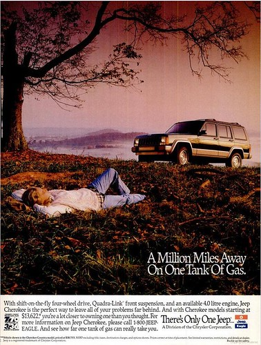 1993 Jeep Cherokee Ad