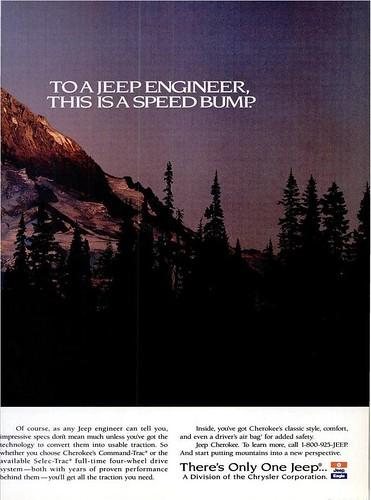 1994 Jeep Cherokee Ad 1