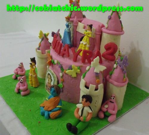 Cake Krisna, Ben10 dan Castle Princess