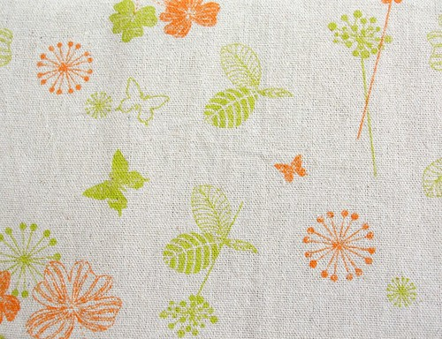 Love of Nature - linen fabric from China