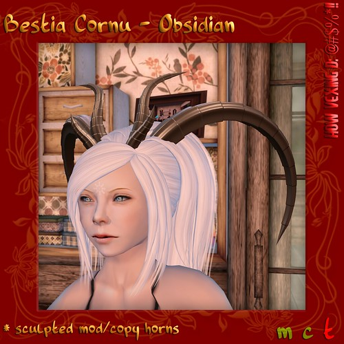 Bestia Cornu - Obsidian