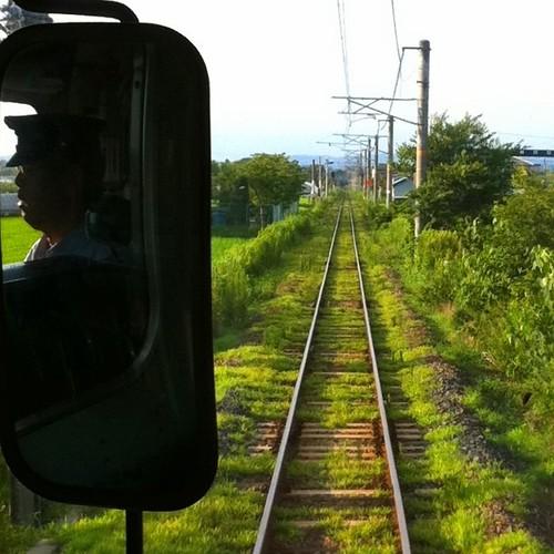 発車オーライ、前方よ~し!(^O^☆♪ #train #iphonography #instagram