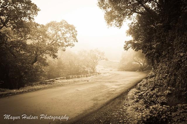 Mysty road