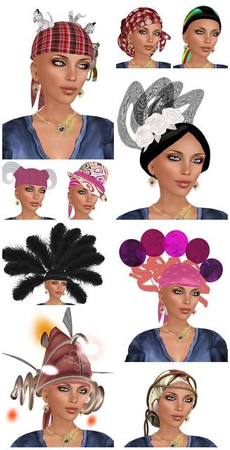 Hair Fair 2011 - Bandanas-vert