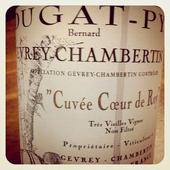 2009 Gevrey-Chambertin Cuvee Coeur de Roy, Dugay-Py