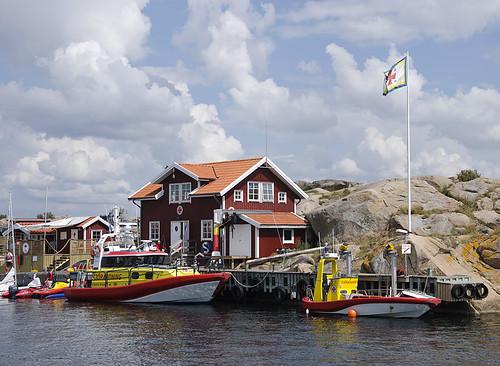 Sjöräddningen i smögen (Sea rescue at Smögen)