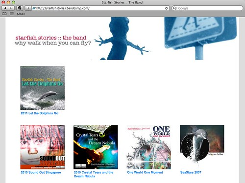 Bandcamp page- Starfish Stories :: The Band