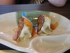 Macleod Sushi & BBQ (visit 2) - pix 11 - Gyoza (dumplings)