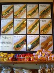 Banh Mi menu sign 1