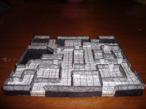 First Papercraft Geomorph